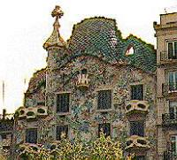 Casa Battlo by Antonio Gaudi