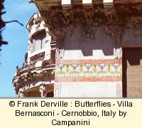 Art Nouveau Butterly in Cernobbio