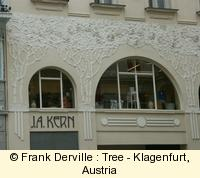 Art Nouveau tree in Klagenfurt