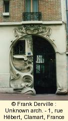 Art Nouveau in Clamart